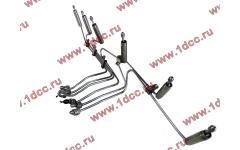 Трубки высокого давления на форсунки H3 от ТНВД H2 (переделка), комплект 6шт