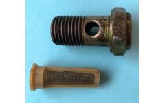 Болт пустотелый М14 с фильтр-сеткой (штуцер топливный) H фото Барнаул