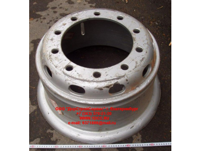 Диск колесный R20х8,5 10 отв. H2/H3/SH HOWO (ХОВО) WG9112610062 фото 1 Барнаул