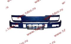 Бампер C синий верхний+нижний (в сборе) фото Барнаул