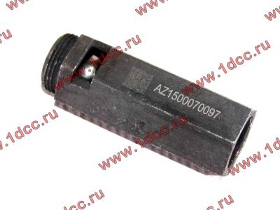 Клапан предохранительный главной масляной магистрали двигателя H HOWO (ХОВО) VG1500070097 фото 1 Барнаул