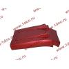 Брызговик передней оси правый H3 красный HOWO (ХОВО) WG1642230104 фото 4 Барнаул