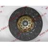 Диск сцепления ведомый 420 мм H2/H3 HOWO (ХОВО) WG1560161130 фото 4 Барнаул