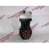 Компрессор пневмотормозов 2-х цилиндровый H2 HOWO (ХОВО) VG1560130080 фото 6 Барнаул